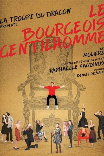 LE BOURGEOIS GENTILHOMME (RAPHAELLE SAUDINOS)