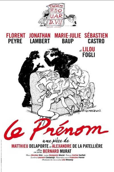 AGENDA / Reprise de la pièce à succès le Prénom en septembre à Paris