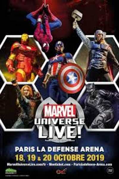 MARVEL UNIVERSE LIVE !