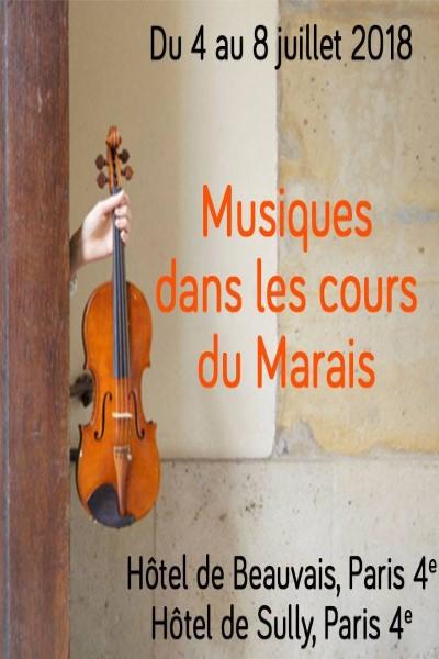 Teaser Musiques dans les cours du Marais 2018