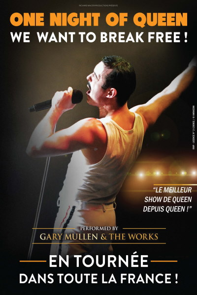 ONE NIGHT OF QUEEN #WE WANT TO BREAK FREE ! Tour 2021