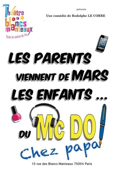 LES PARENTS VIENNENT DE MARS, LES ENFANTS DU MACDO! CHEZ PAPA