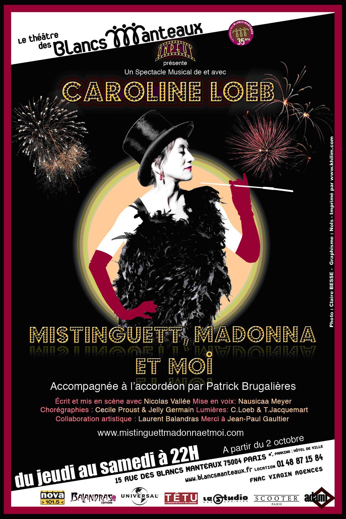 concert Caroline Loeb