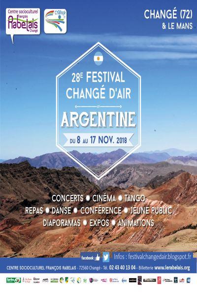 28e Festival Changé d'Air en Argentine
