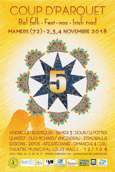 Festival Coup d'Parquet 5ème édition - Bal folk, fest-noz & Irish trad