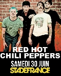 Red Hot Chili Peppers au Stade de France : réservez maintenant