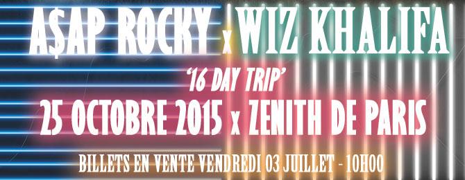 A$ap Rocky et Wiz Khalifa