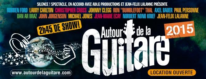 Tournée Autour de la Guitare 2015