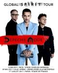 RESERVEZ / Depeche Mode en concert à Paris, Lille et Nice en 2017 !