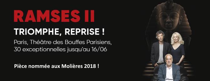 Prolongation jusqu'au 16/06 au Théâtres des Bouffes Parisiens