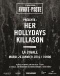 RESERVEZ / Trois révélations prometteuses à l'affiche de la soirée Converse Avant-Poste ce soir à Paris !
