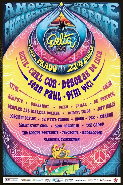 TEASER OFFICIEL - DELTA FESTIVAL 2021 : Woodstock