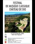 FESTIVAL DE MUSIQUE CLASSIQUE DU CHATEAU DIO