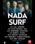 TOURNEE / Nada Surf en concert : nouvelle tournée de 7 dates en novembre et décembre 2016. A réserver maintenant !
