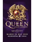 Le Rhapsody Tour de Queen & Adam Lambert bientôt à Paris !