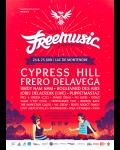 Teaser Festival Free Music 2016, week-end les pieds dans l'eau