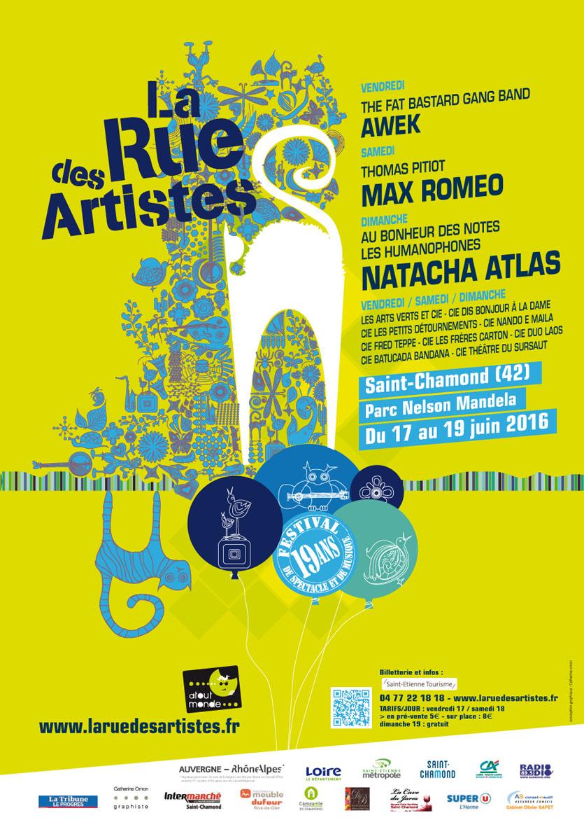 La Rue des Artistes - Teaser2016