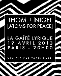 concert Thom + Nigel [atoms For Peace]