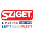 Sziget 2013 - Island of Freedom with exciting visuals at many venues