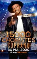 Soprano donnera un concert à l'Orange Velodrome avec 15000 choristes. Réservez votre billet