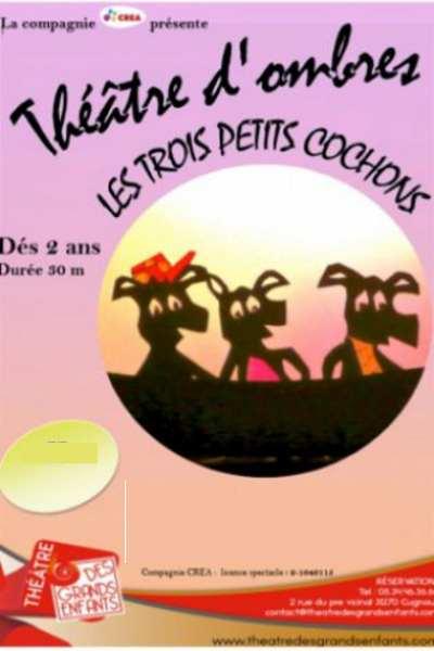 LES TROIS PETITS COCHONS (Cie Crea)