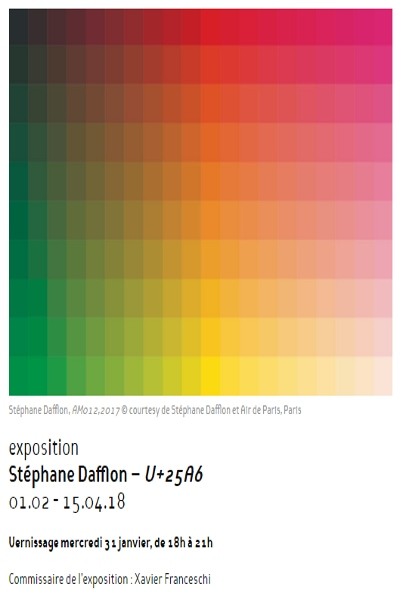 STEPHANE DAFLON : U+25A6