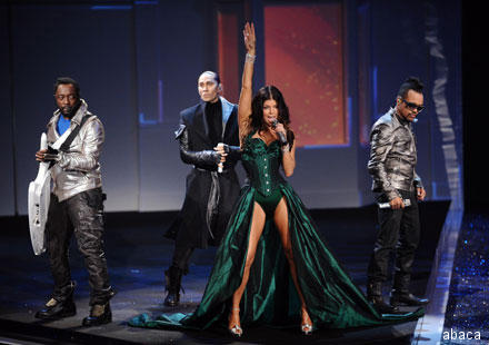 Black Eyed Peas live à New-York filmé par James Cameron