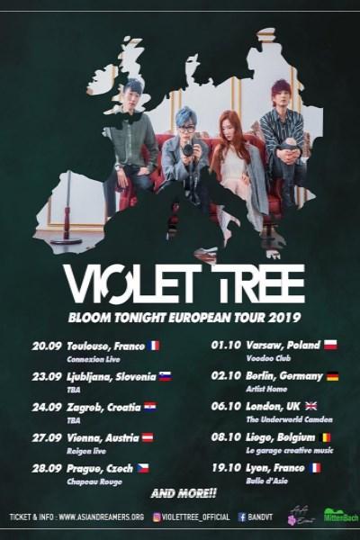concert Violet Tree