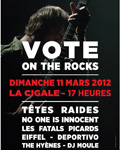 Vote on The rocks à Paris : un concert pour aller voter !