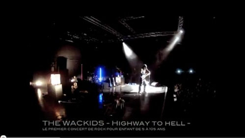 THE WACKIDS / concert jeune public / Highway to Hell