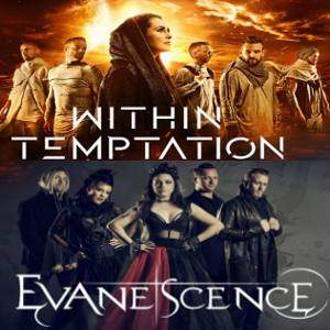 Evanescence & Within Temptation s'allient pour une tournée commune en 2020 !