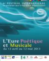 L'EURE POETIQUE & MUSICALE - FESTIVAL EN NORMANDIE SUD