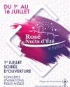 FESTIVAL ROSE NUITS D'ETE